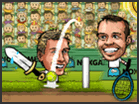 Puppet Tennis game