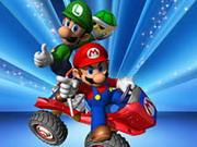 play Mario And Luigi Driving Jigsaw Puzzle