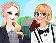 play Frozen Sisters College Life