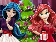 play Disney Princesses And The Perfect Christmas Tree