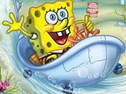 play Spongebob'S Bathtime Burnout 2