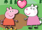 Peppa Pig Friend Kiss game