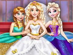 play Goldie Princess Wedding