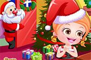 Baby Hazel Christmas Dressup game