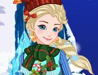 Elsa Ugly Christmas Sweater game