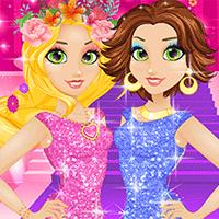 play Rapunzel Blonde Vs Brunette