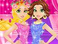 play Rapunzel Blonde Vs Brunette Game