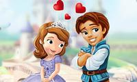 play Sofia The First: Kissing