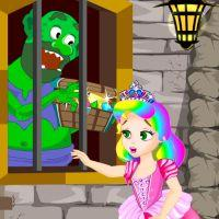 play Princess Juliet Trolls Castle Escape