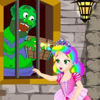 play Princess Juliet Trolls Castle Escape