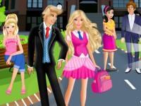 play Princess School Kissing