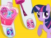 play My Little Pony Sparkling Nails