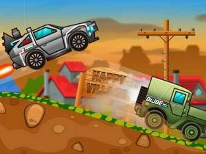 play Happy Wheels Racing Movie Cars