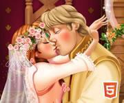 play Frozen Anna Kiss H5