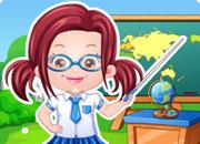 play Baby Hazel Teacher Dress Up