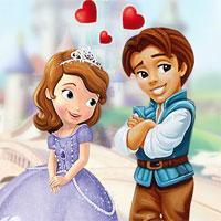 play Princess Sofia Kissing
