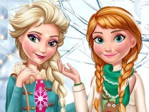 Elsa And Anna Winter Trends game