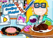 Kitchen Cooking Crazy Master game