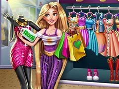 play Rapunzel Realife Shopping