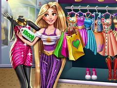 play Rapunzel Realife Shopping