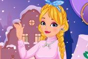 Girly Winter Girl Game game