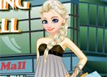 Elsa Shopping At The Mall game