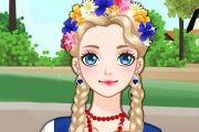 Polish Girl Make Up Girl Game game