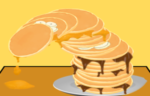 Messy Pancake Tower! game