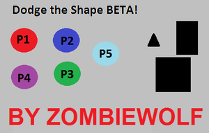 Dodge The Shape Beta game