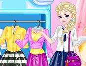 Elsa College Dress Up game