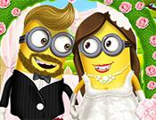 Minion Girl Wedding Party game
