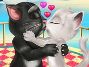 play Tom And Angela Valentine Kiss