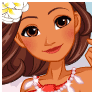 Dress Up Moana And Design Her Boat! game