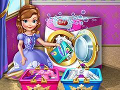 play Princess Sofia Laundry Day