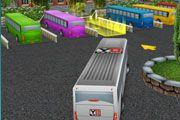 play Bus Parking 3D World