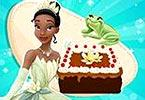 play Tiana Cooking Chocolate Cake