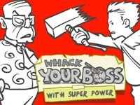Whack Your Boss: Superhero Style game