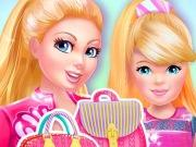 play Barbie And Kelly Matching Bags