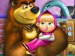 play Masha And Bear Toys Disaster