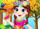 Baby Anna Forest Adventure game