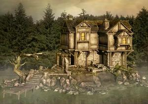 play Firstescape Forest Lake House Escape