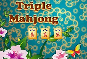 Triple Mahjong game