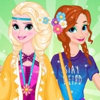 play Elsa And Anna Spring Trends