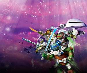 Tmnt Turtles In Space game