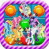 play Candy Jelly Match 3 Crush Garden Game - My Little Pony Version