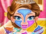 play Princess Face Makeover