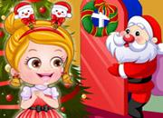 play Baby Hazel Christmas Dressup