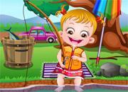 play Baby Hazel Fishing Time