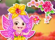 play Baby Hazel Flower Princess Dressup