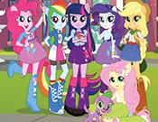 play My Little Pony Equestria Girls Spot The Numbers